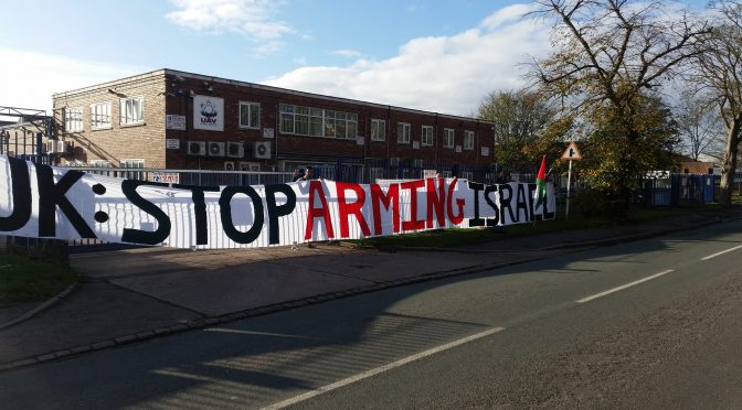 Elbit Day of Action: Protest at Shenstone